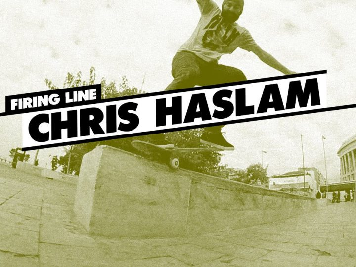 Chris Haslam Firing line