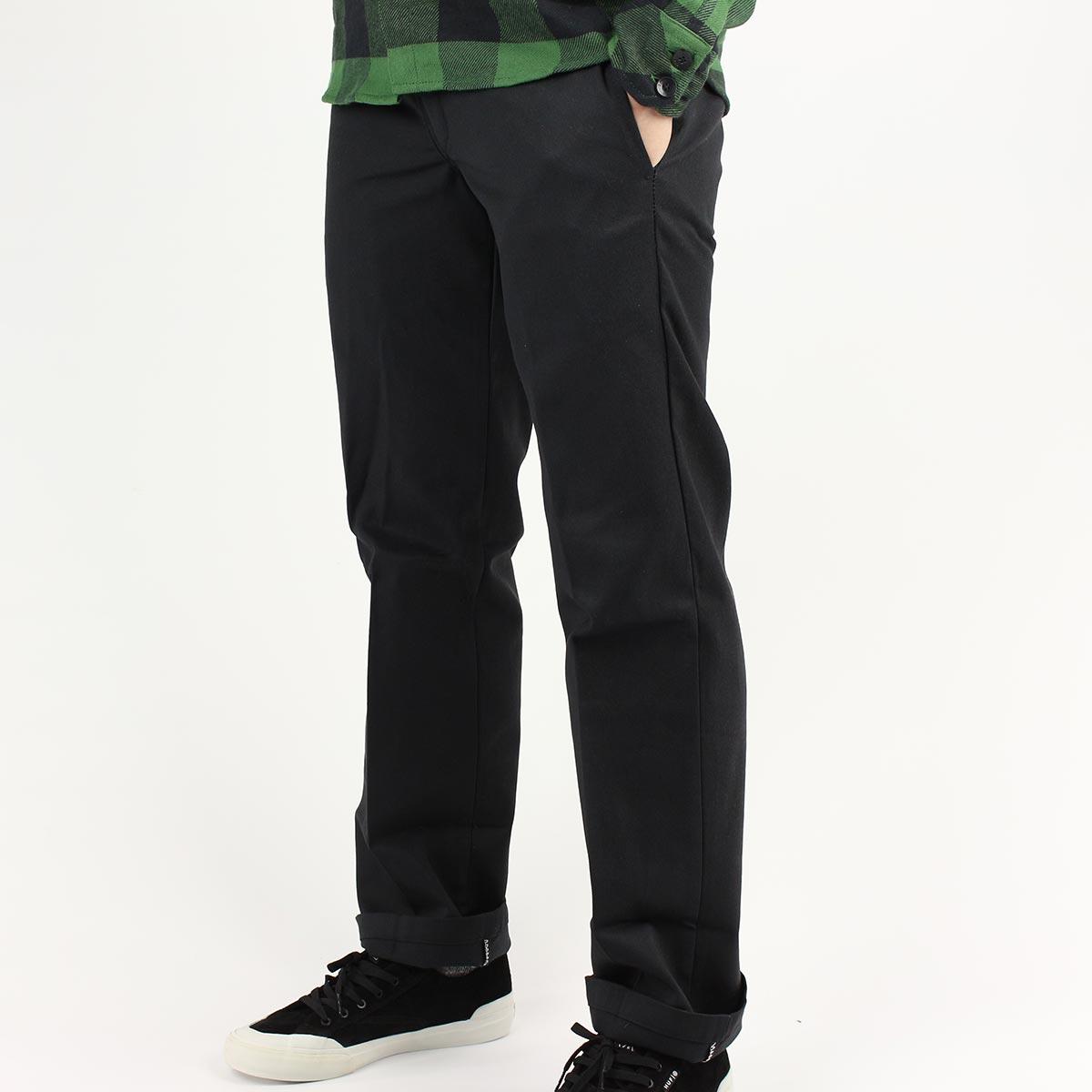 81887b00b1fde Dickies 873 Slim Straight Work Pant - Black
