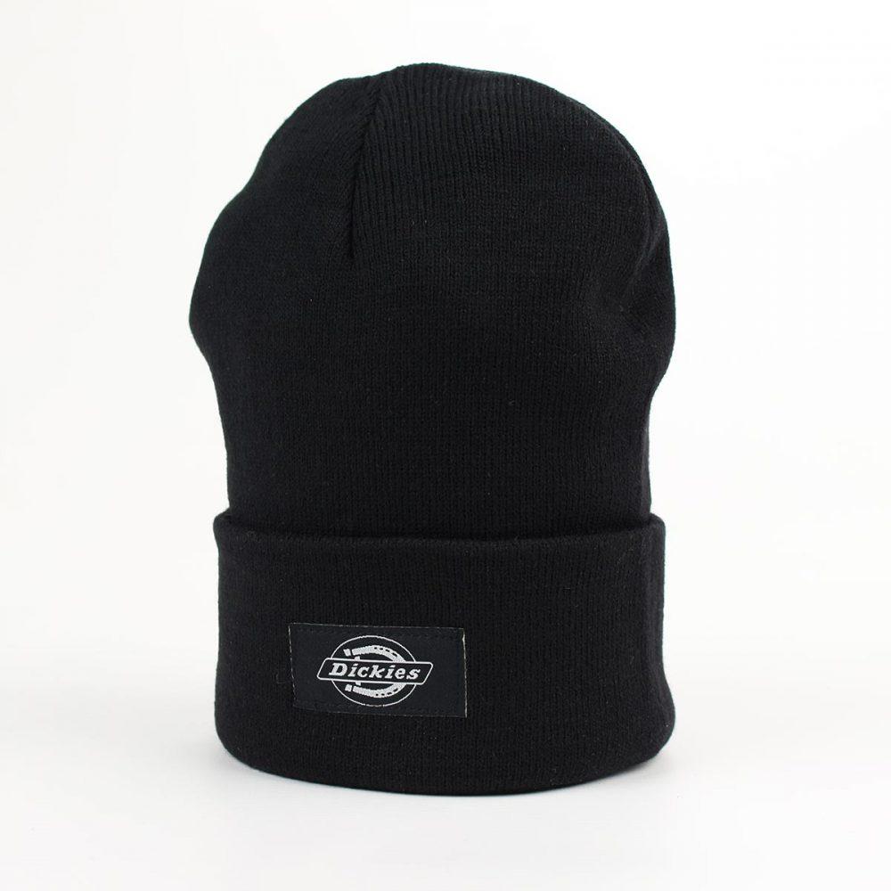 Dickies Yonkers Cuffed Beanie Hat - Black  a27a560b6e1