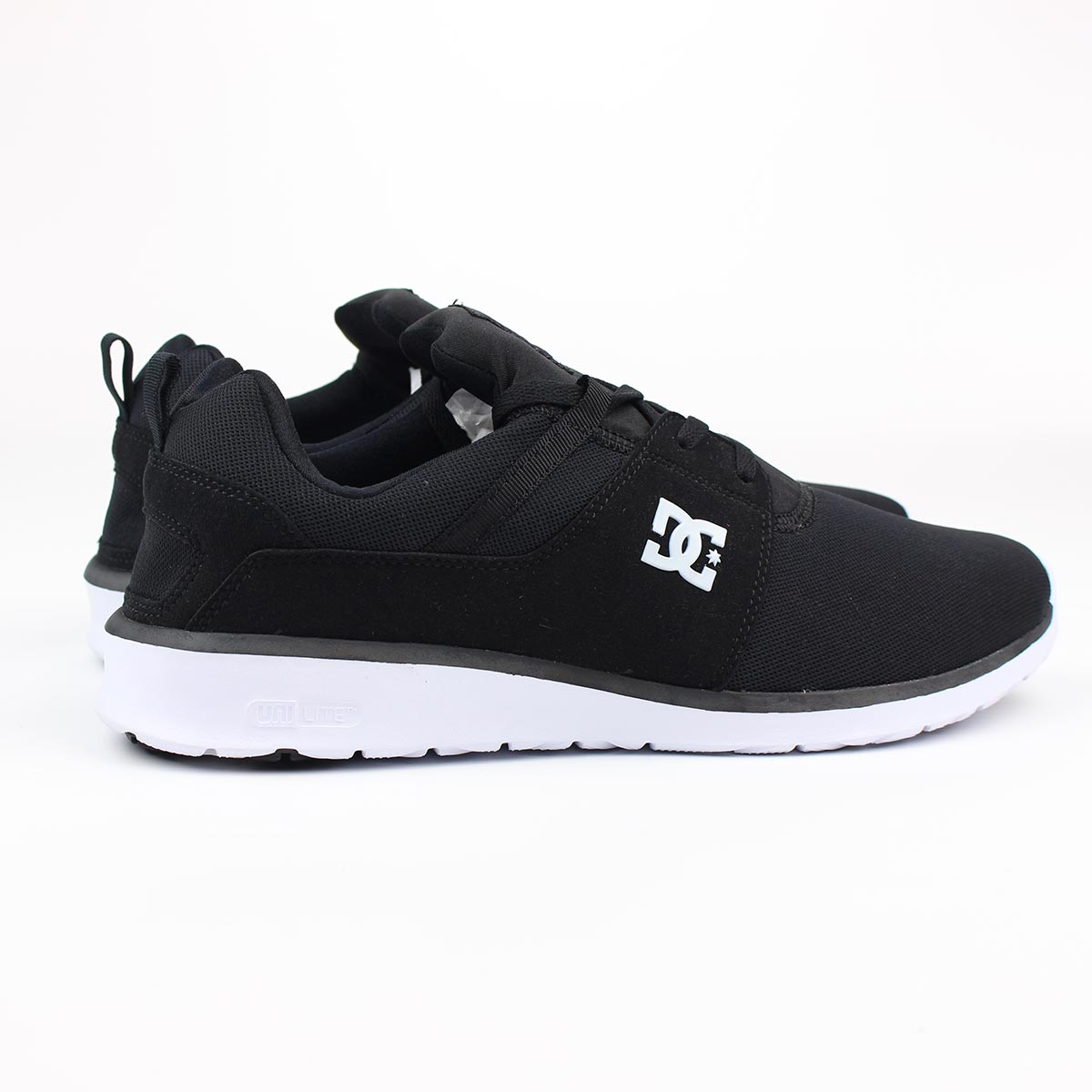 dc shoes heathrow black white