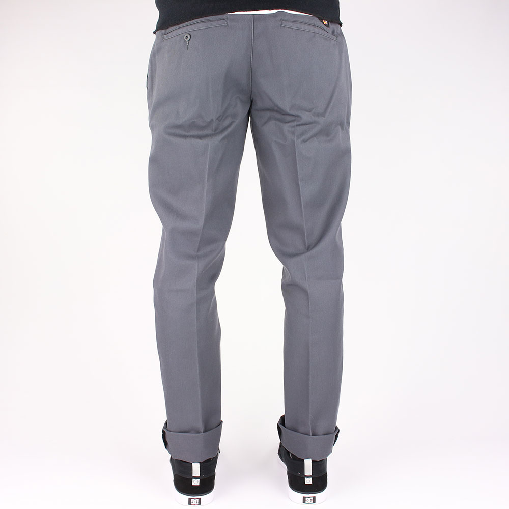 GREY PANTS & KHAKIS Universally flattering and always appropriate, grey pants are a cornerstone of any modern guy's wardrobe. Great for both work and play, our selection of men's khaki pants in your favorite shades of grey come in sorts of sizes and fits.