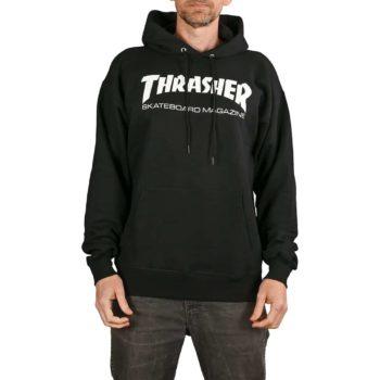 Thrasher Skate Mag Pullover Hoodie - Black