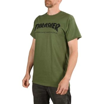 Thrasher Skate Mag S/S T-Shirt - Army Green