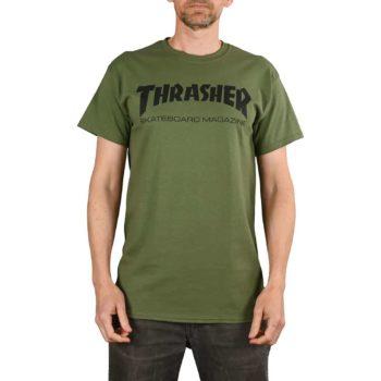 Thrasher Skate Mag S/S T-Shirt - Army Green