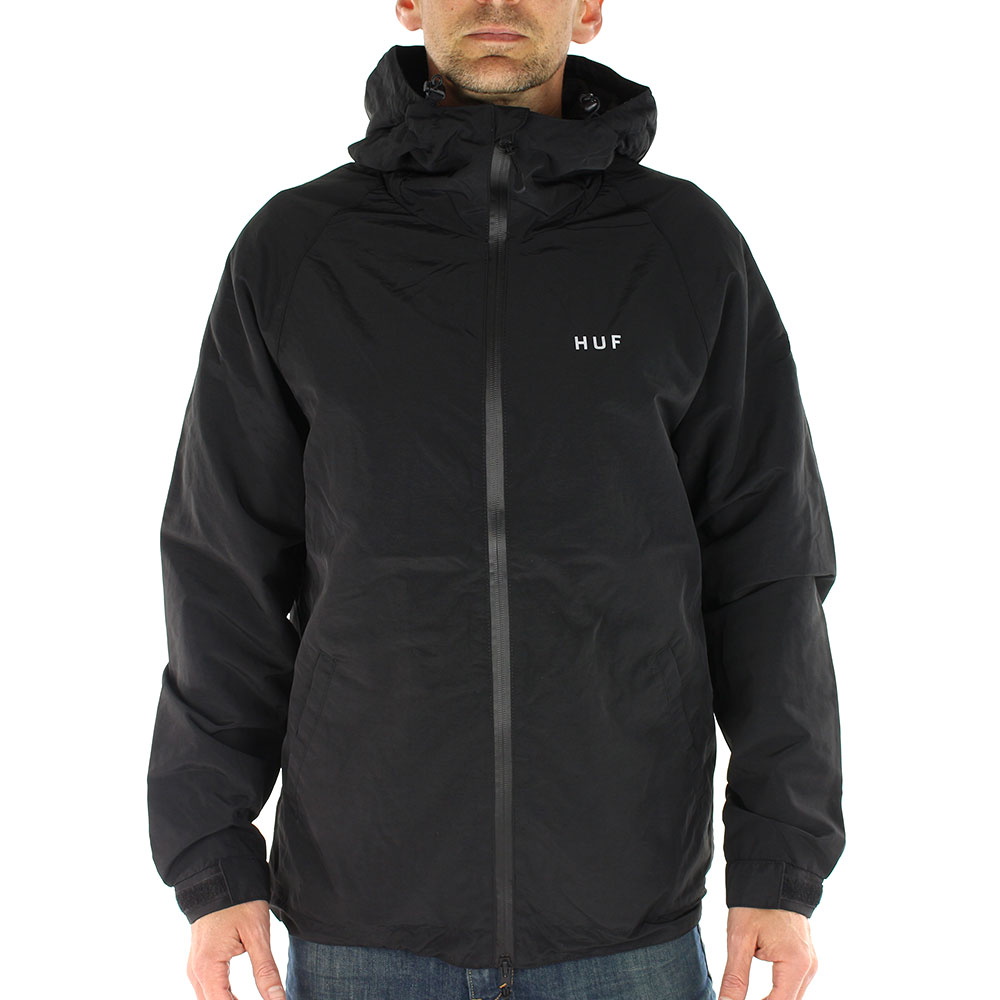 HUF-Standard-Shell-Zip-Through-Jacket-Black-01