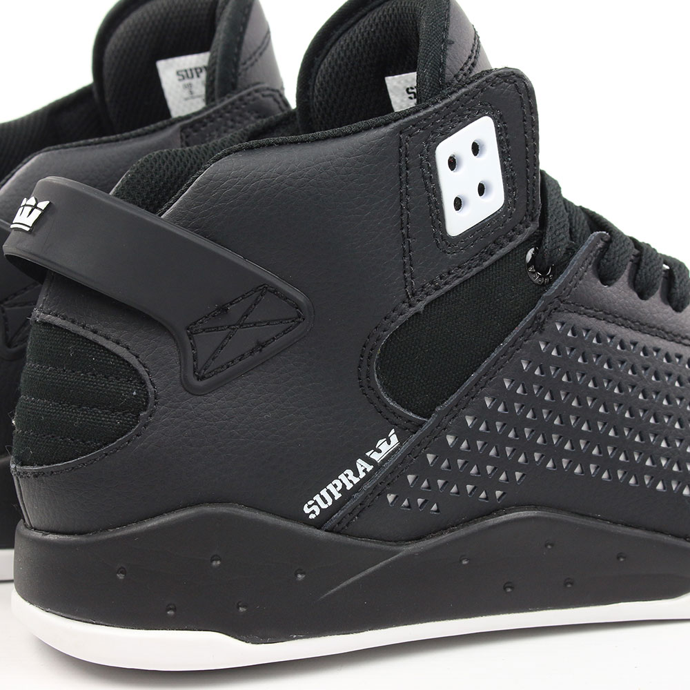c9693715b02c Supra Shoes Skytop 3 High Top - CD Black Charcoal White