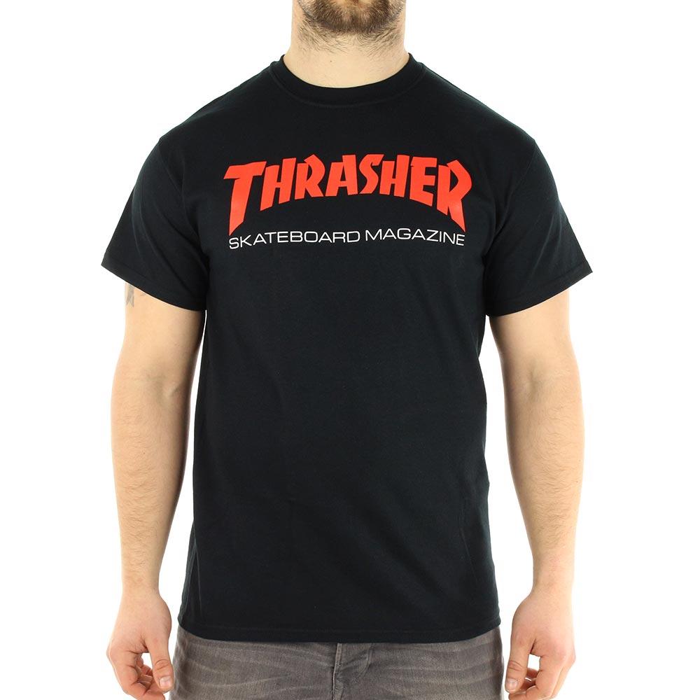 2240be34b Thrasher Two Tone Skate Mag T-Shirt - Black