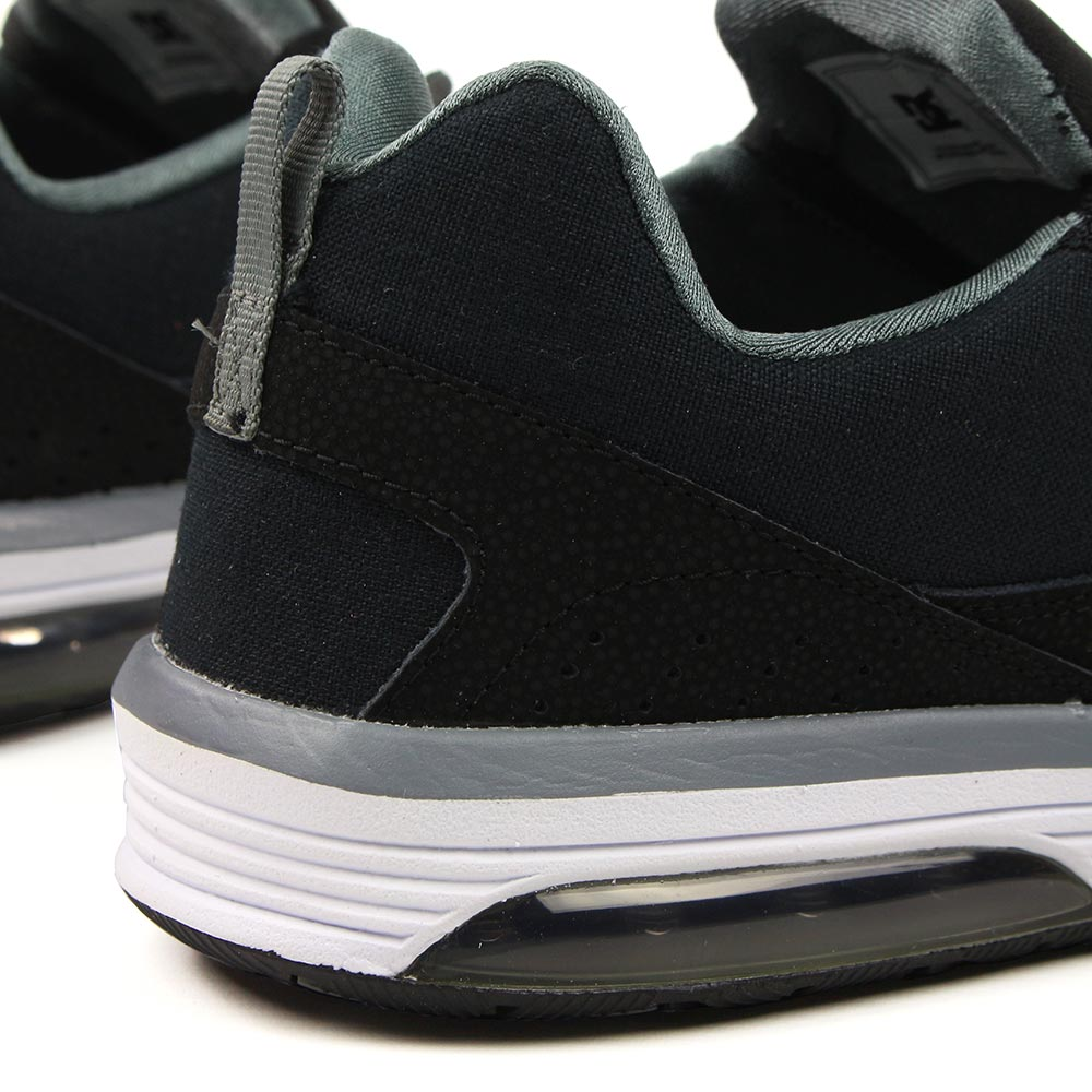 Black DC IA Heathrow 07 Grey Shoes White Hxqf8p