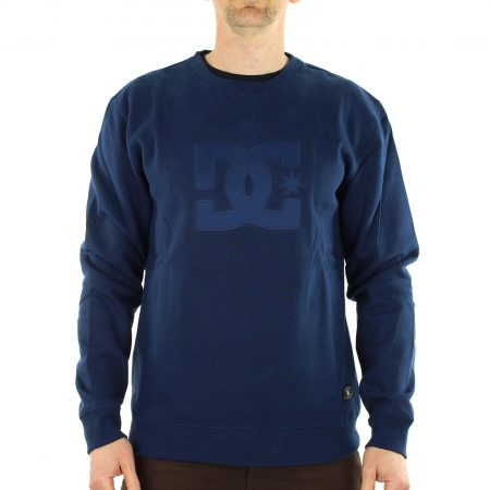DC Shoes Ellis Crew Neck Sweat Shirt - Blue