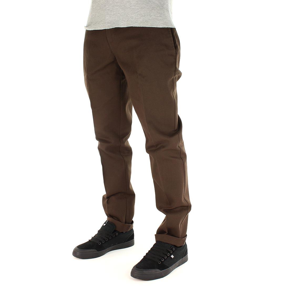 Dickies 872 Slim Fit Work Pant - Chocolate Brown