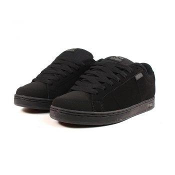 Etnies Kingpin Skate Shoes - Black / Black