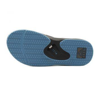 Reef Fanning Sandals - Grey Light Blue