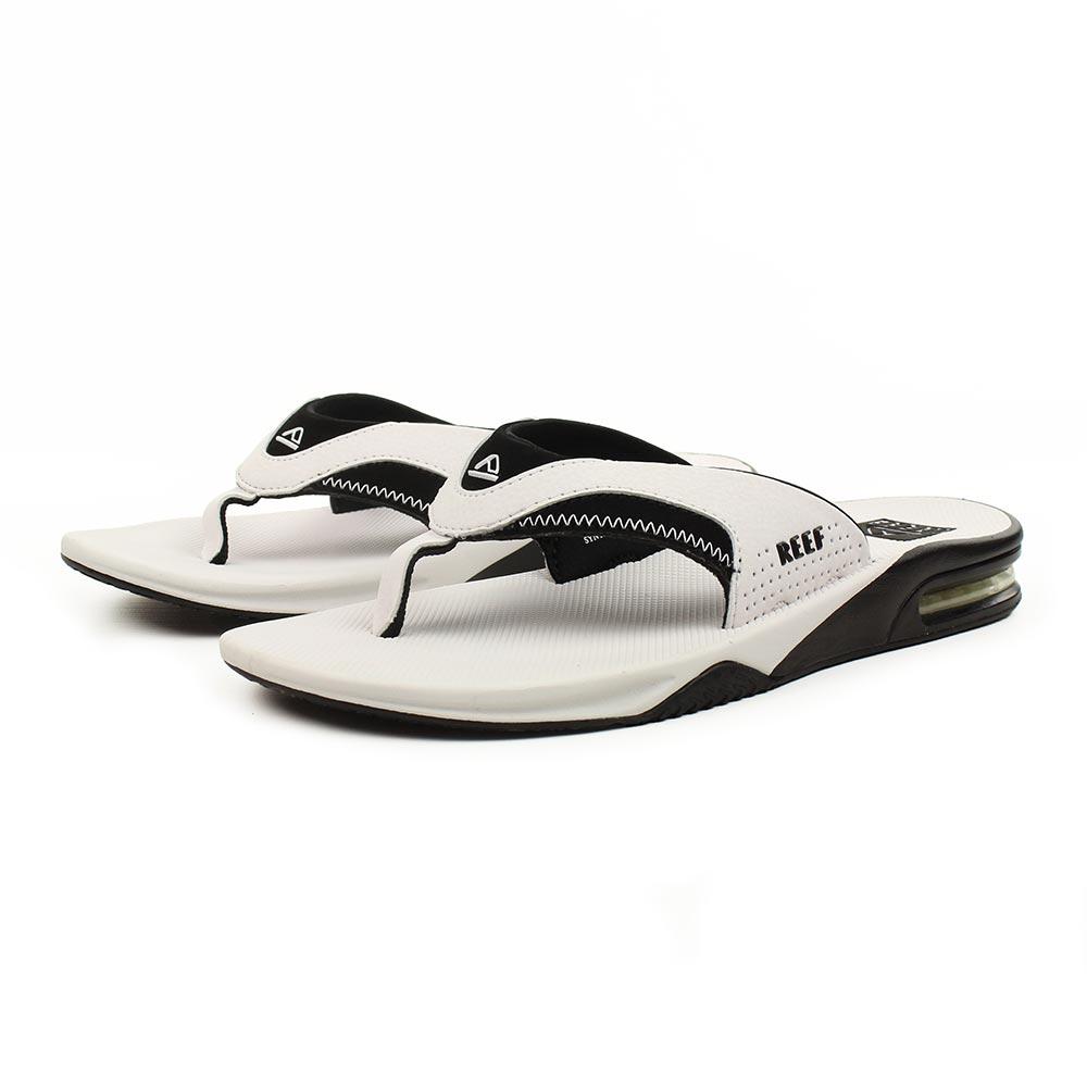 9ea4c127f40a Reef-Sandals-Fanning-White-Black-02
