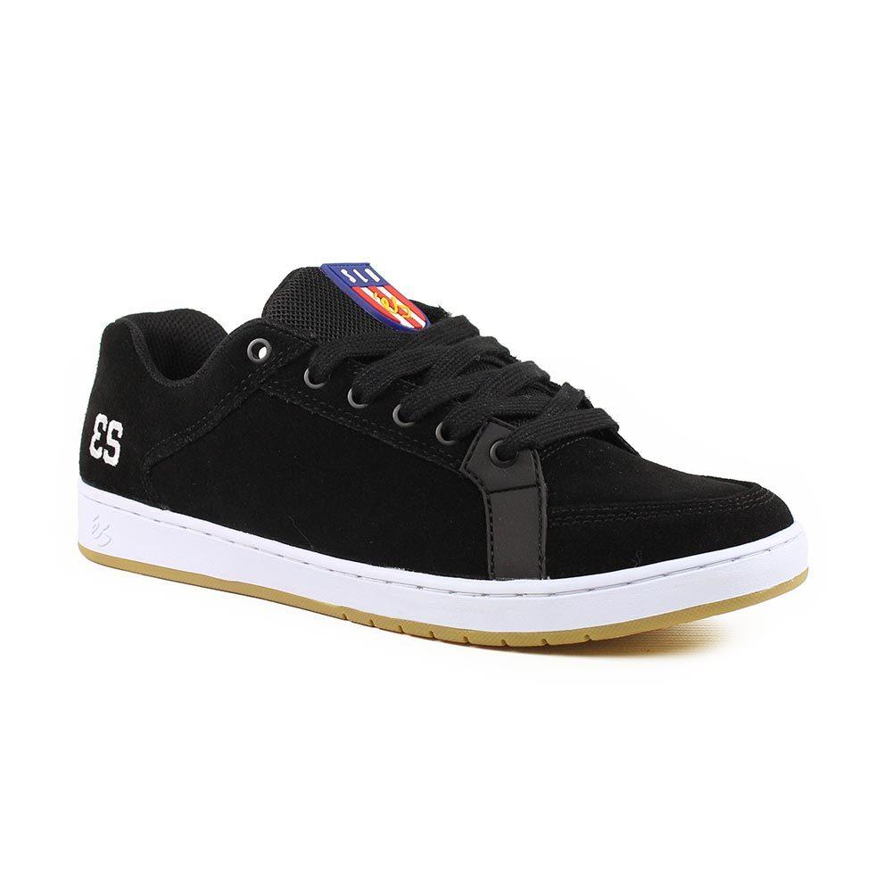 eS Shoes Sal Black White