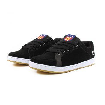 eS Sal Skate Shoes - Black Suede