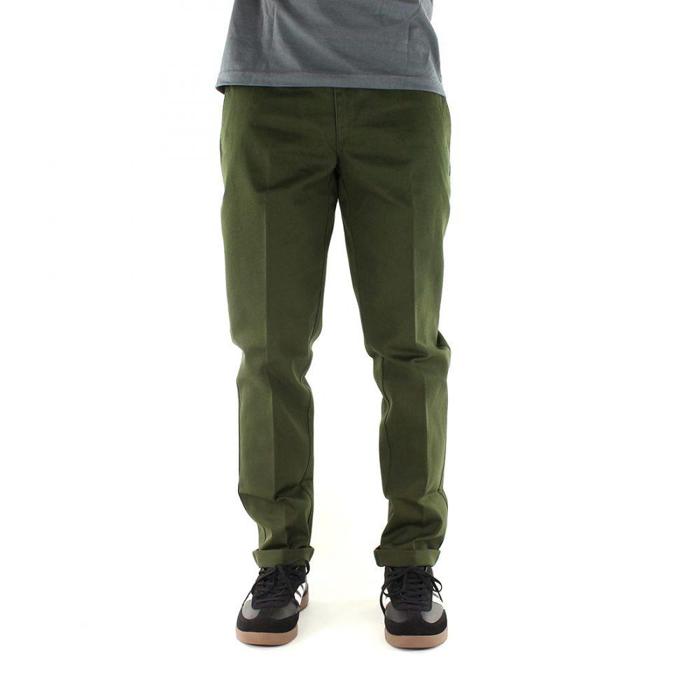Dickies-872-Slim-Fit-Work-Pant-Olive-Green-01