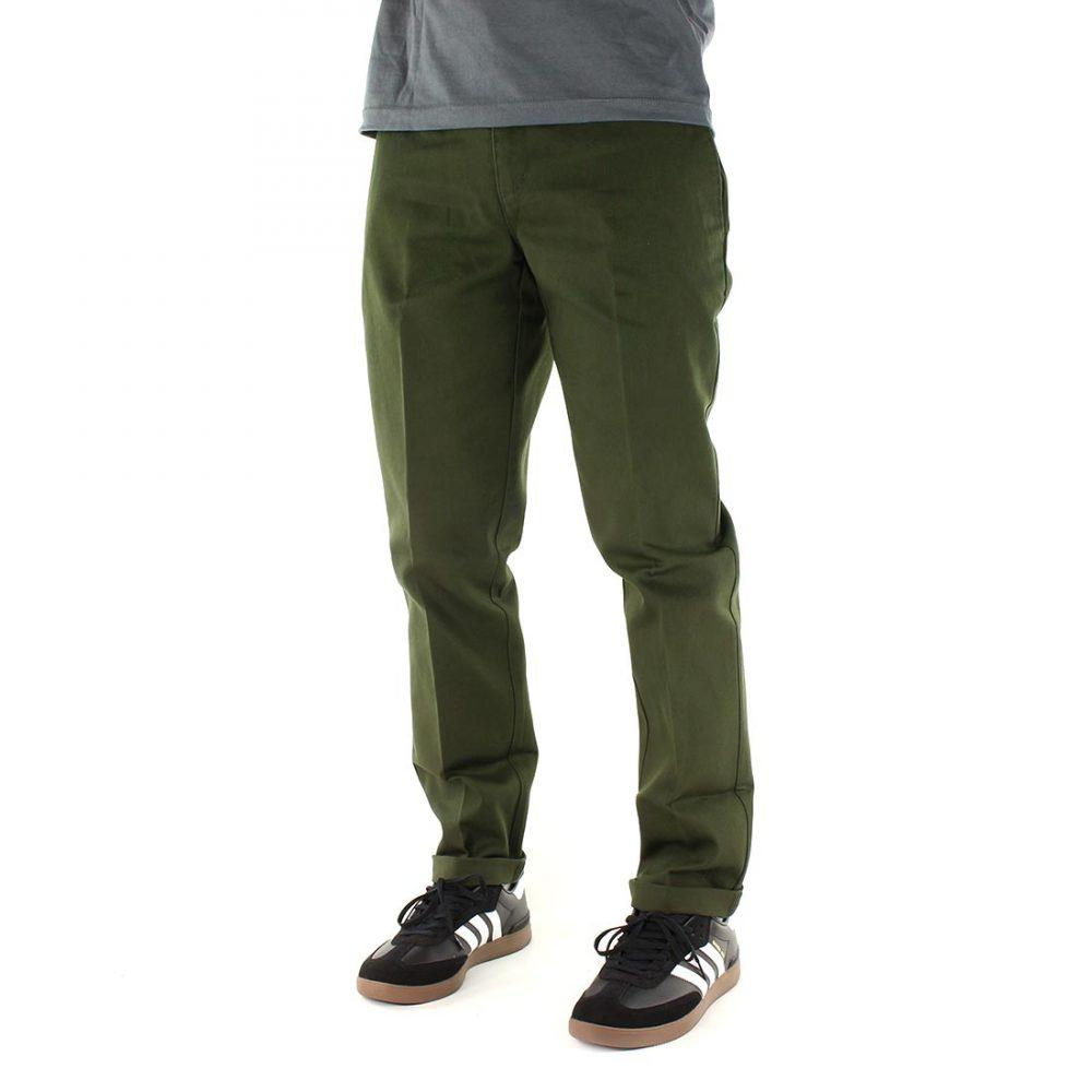 Dickies-872-Slim-Fit-Work-Pant-Olive-Green-02