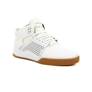 Supra Shoes Skytop 3 High Top - White Gum