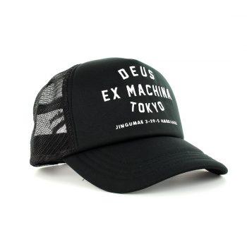 Deus Ex Machina Tokyo Address Trucker Black