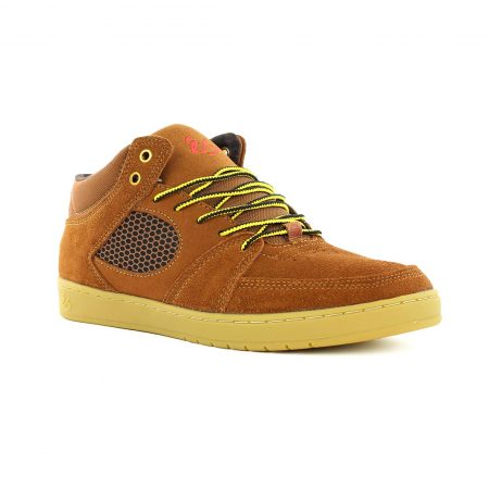 eS Shoes Accel Slim Mid - Brown Gum