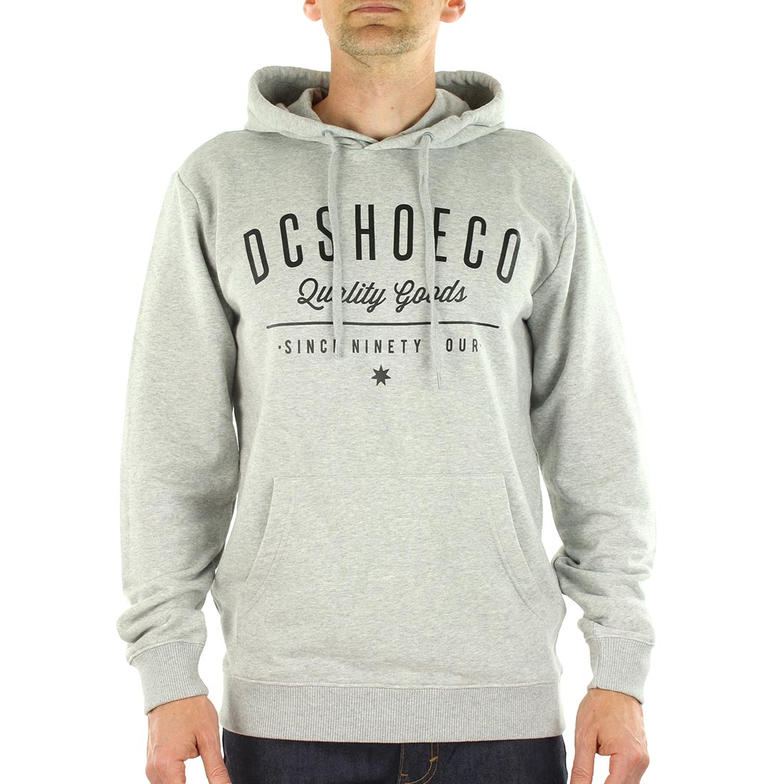 DC Shoes Severance Pull Over Hoodie - Grey Heather