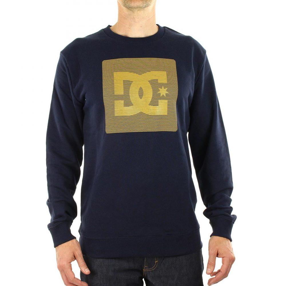 DC Shoes Variation Crew Neck Sweater - Dark Indigo