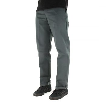 Dickies 873 Slim Straight Work Pant - Charcoal Grey