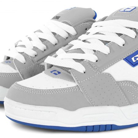 Globe Shoes Scribe - Grey White Blue