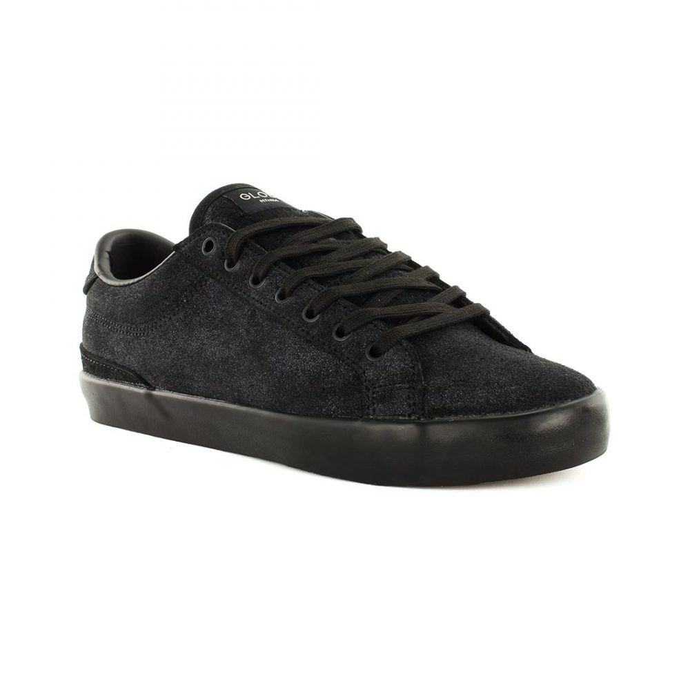 Globe Shoes x Monster Children Status - Black Suede