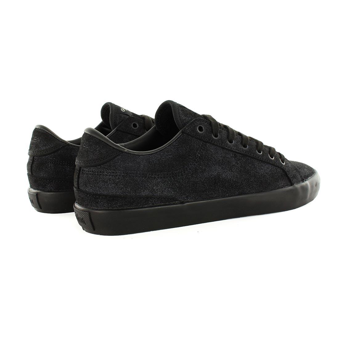 Globe Shoes x Monster Children Status - Black Suede