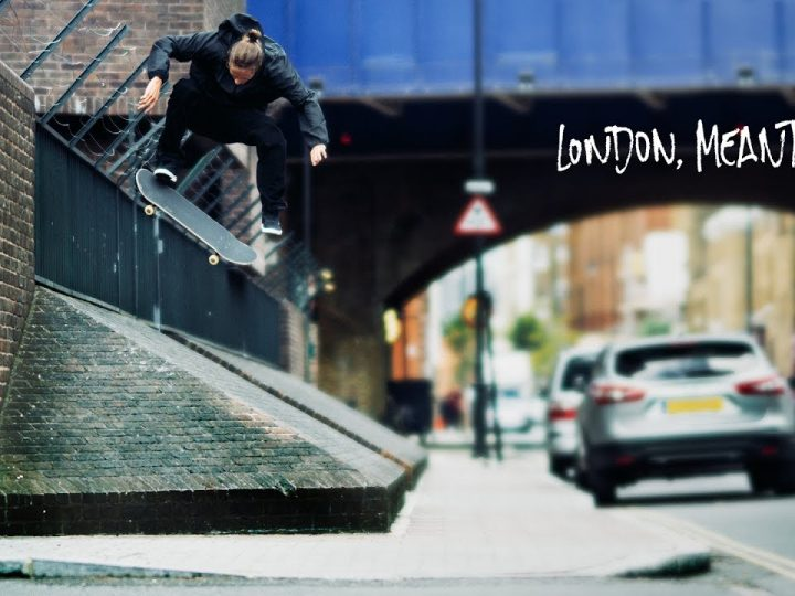 "Adidas Skateboarding Presents – London ""Meantime"" Edit"