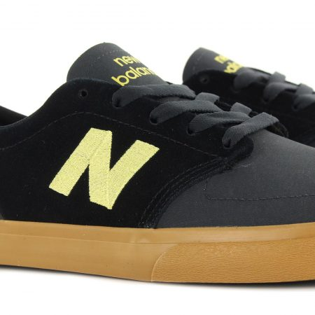 New Balance Numeric 345 Black Yellow
