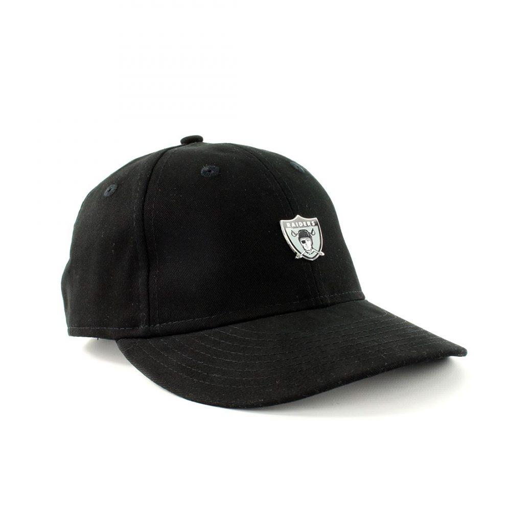dc28a25bc70 New Era Oakland Raiders NFL Badge Low Crown 9Fifty Cap - Black