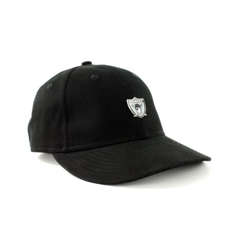 New Era Oakland Raiders NFL Badge 9Fifty Cap - Black