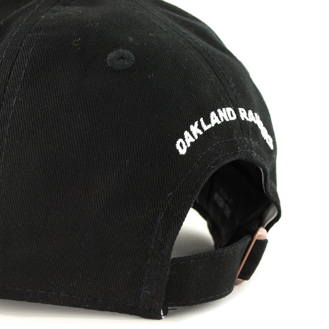 75cea304 New Era Oakland Raiders NFL Badge Low Crown 9Fifty Cap - Black