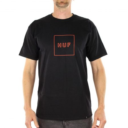 HUF Outline Box Logo T-Shirt