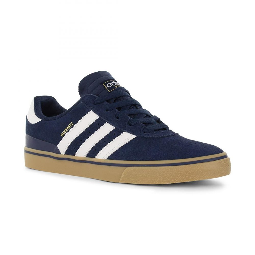 95fb01df4a9c12 Adidas Shoes Busenitz Vulc - Navy White Gum