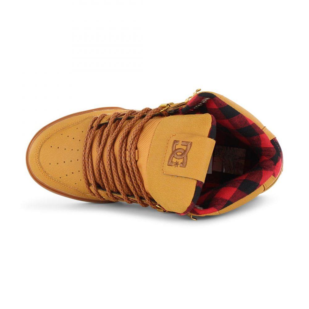 7c9a64d079e81 DC Shoes Spartan High WC WNT - Wheat Black Dark Chocolate