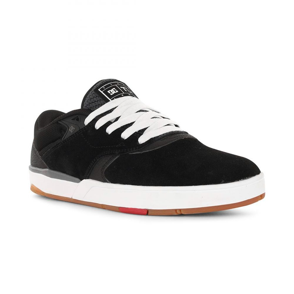 2d577f2061f5 DC Shoes Tiago S - Black White Red