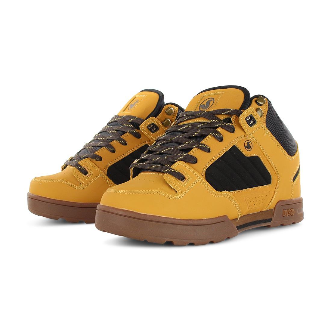 89bec122600 DVS Shoes Militia Boot - Tan Chamois Leather