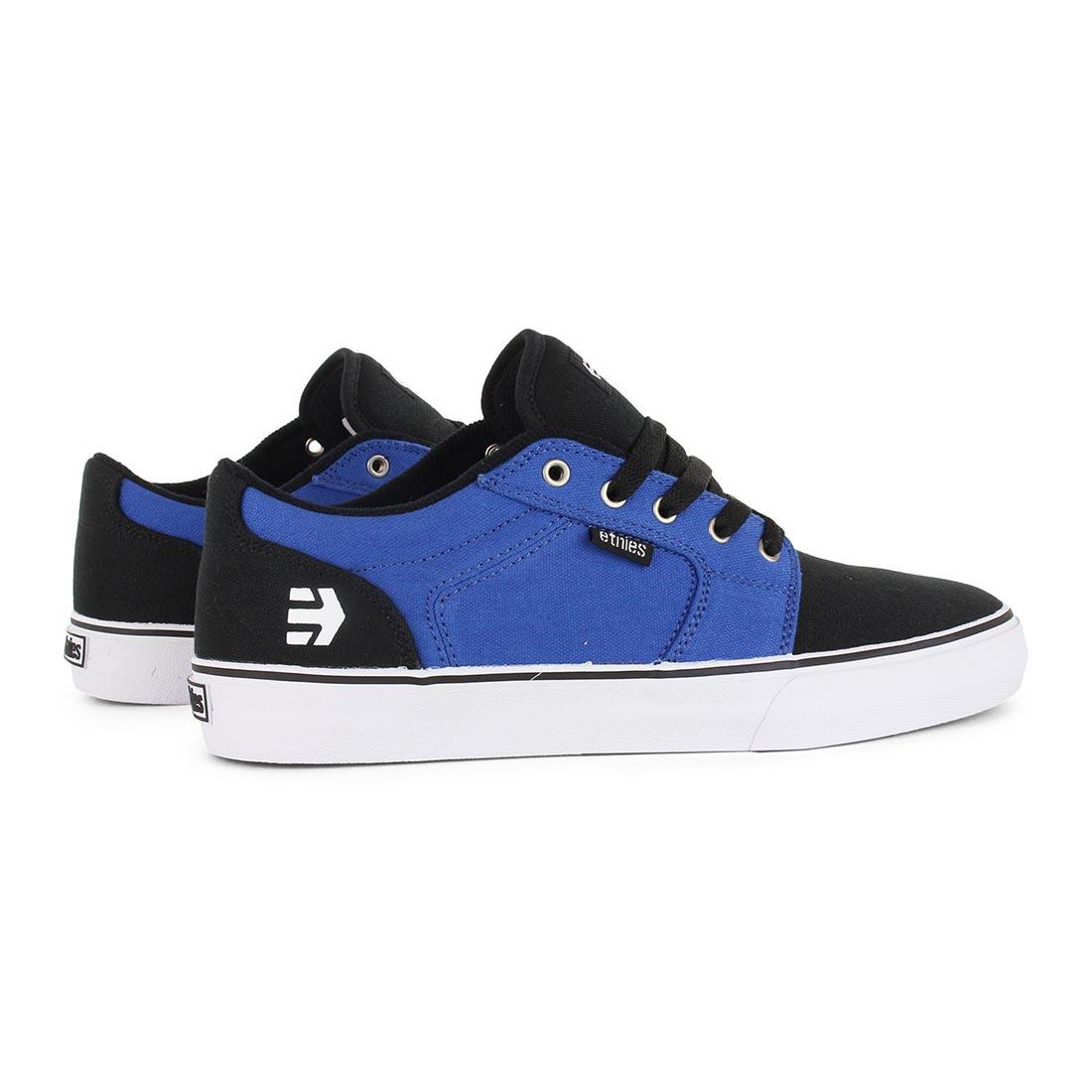 Etnies shoes barge ls black blue white