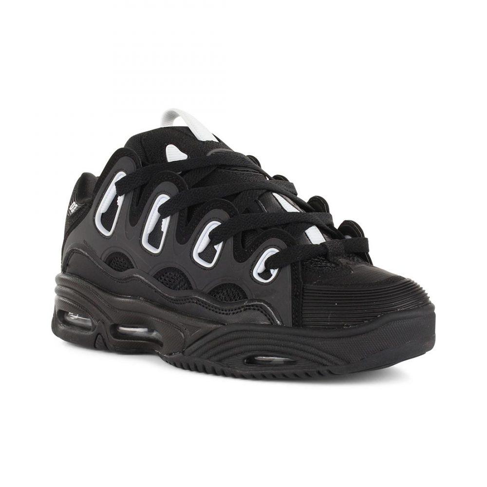 746cd6fd09 Osiris Shoes D3 2001 - Black White Black