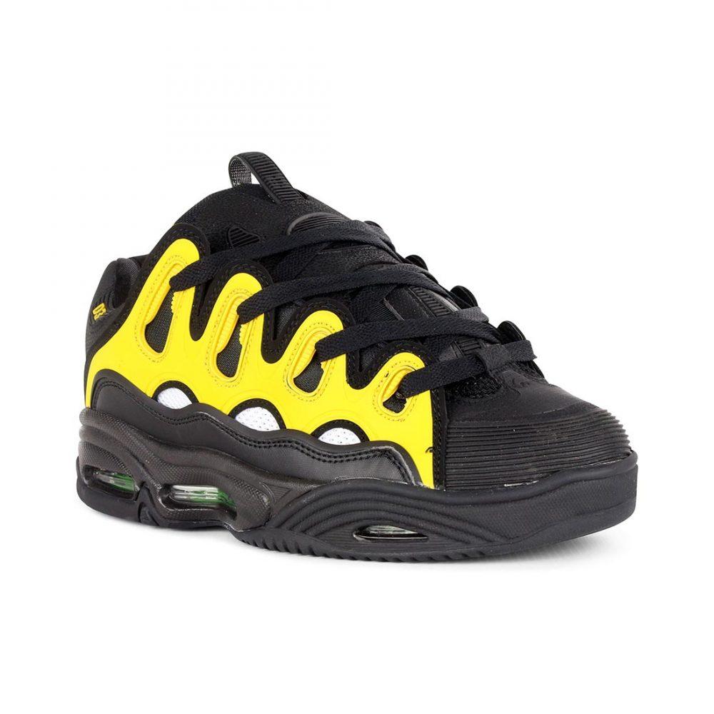 53b3be8f0b Osiris-Shoes-D3-2001-Black-White-Yellow-01