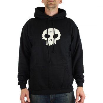 Zero Single Skull Hoodie Black