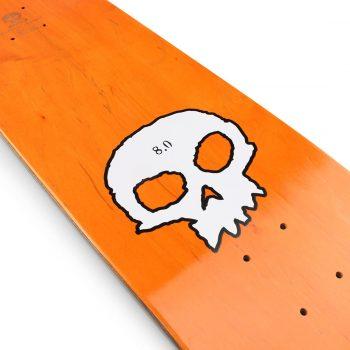 Zero Single Skull Deck Black