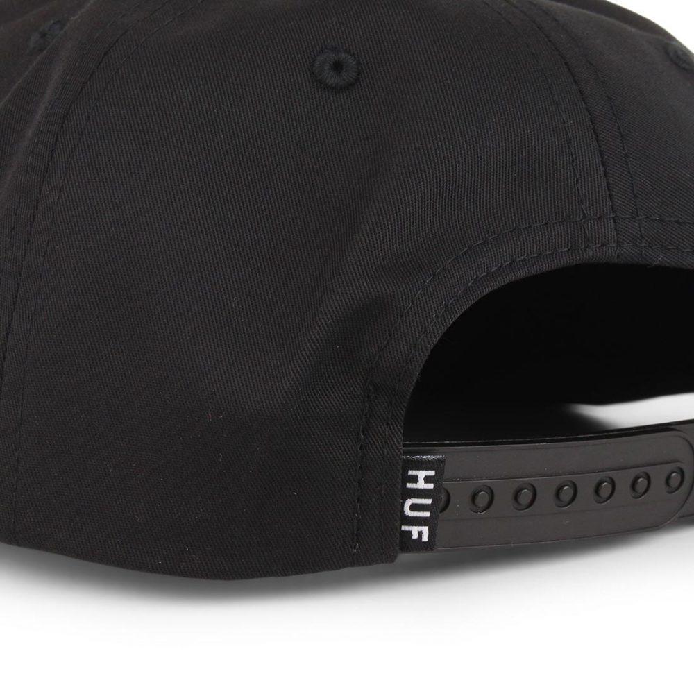 HUF-Triple-Triangle-Snapback-Hat-Black-04