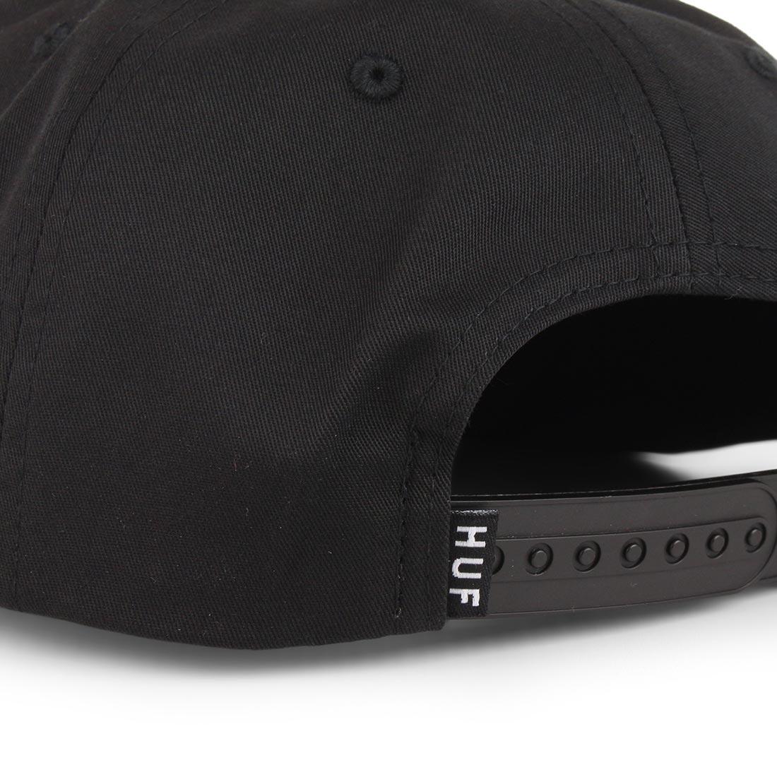 0b798f5ed HUF Essentials TT Snapback Hat - Black