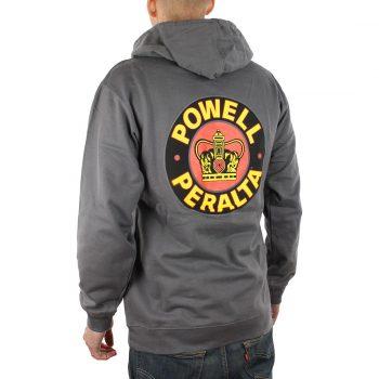 Powell Peralta Supreme Hoodie Charcoal