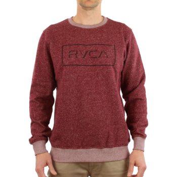 Big RVCA Speckle Crew Sweater