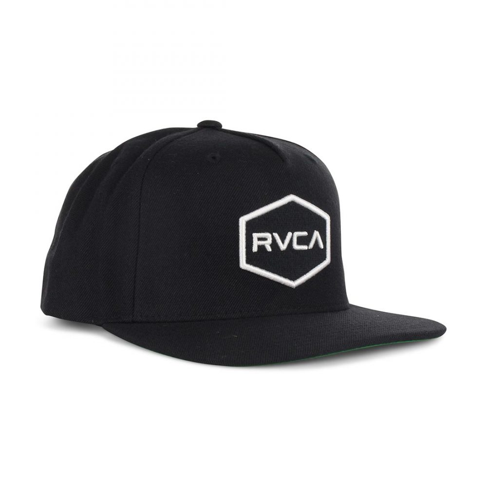 brand new 3a366 b6315 ... 2 bccc7 54c44 coupon for rvca commonwealth snapback hat black white 01  ce1c8 acbbc ...